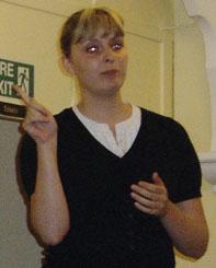 Helen Riley BSL